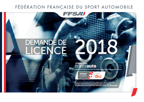 Licence 2018 FFSA ASA Ondaine